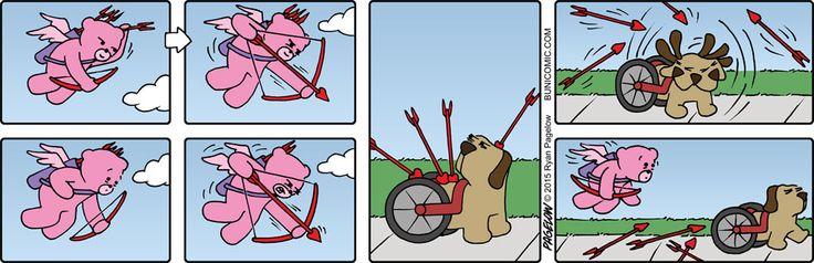 Каждая новая картинка комиксов рассказывает о своём жизненном моменте, в котором её участникам не всегда смешно.
