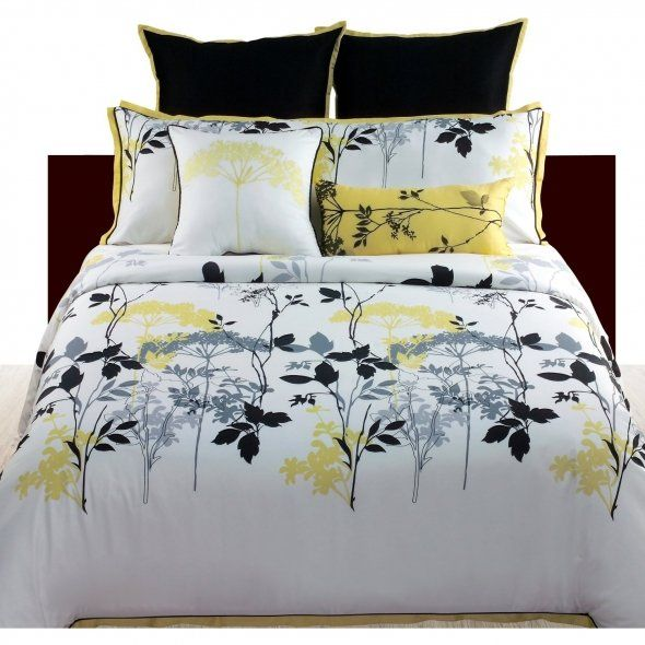 yellow and grey bedding ideas angelo home gramercy park 4 piece comforter set queen cottage. Black Bedroom Furniture Sets. Home Design Ideas