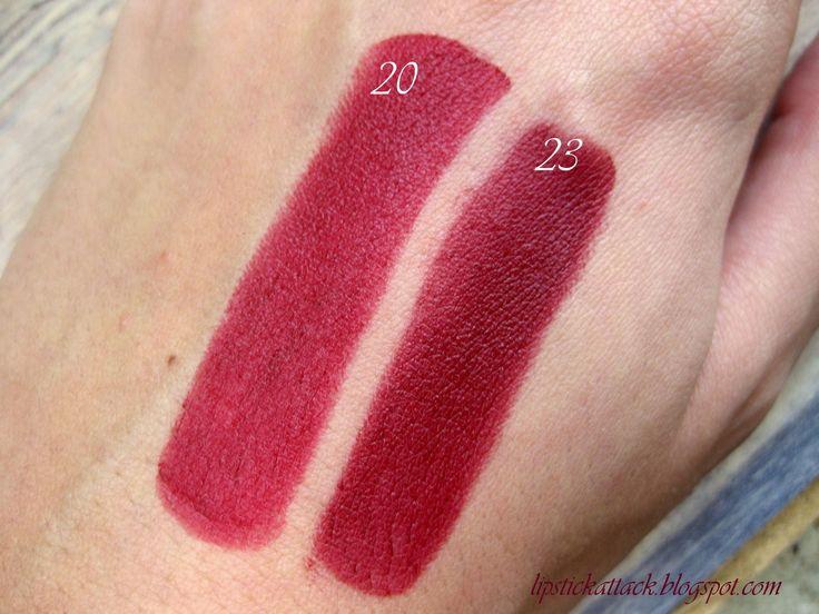 Lipstick Attack: Golden Rose Velvet Matte ruževi, 2.dio