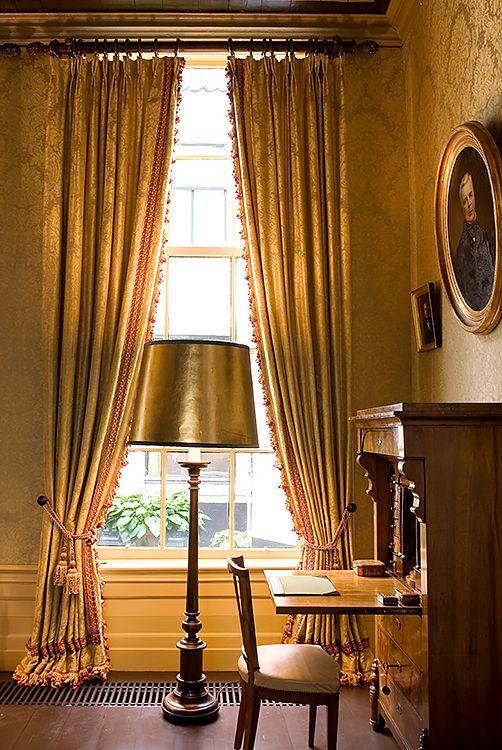 Historische wandbespanning stof - Doornebal Interiors