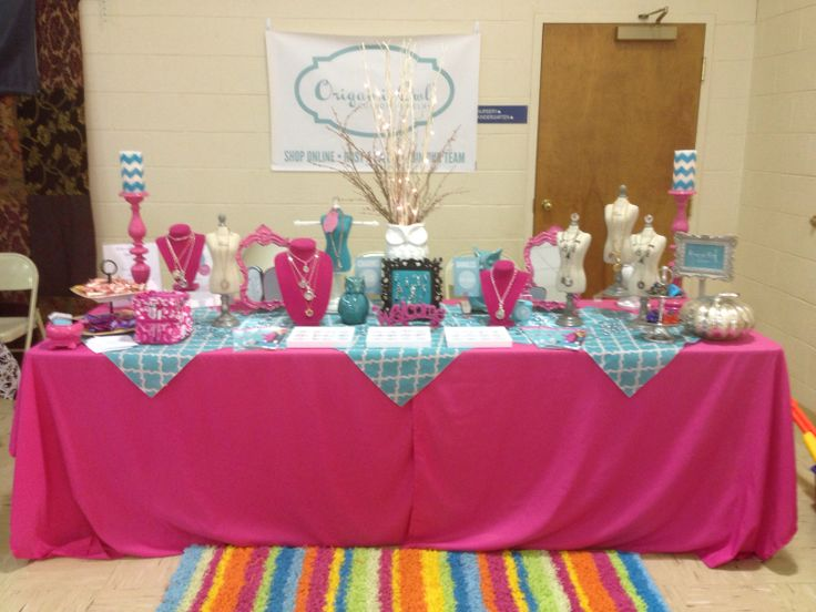 Table Display Ideas find this pin and more on at the markets craft fair display ideas part 2 My Origami Owl Display Table At Our Redeemed Zumba Fitness Fall Festival Today Oigamiaowl