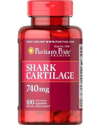 Natural joint support straight from the sea!.  Shark Cartilage is a natural source of Chondroitin Sulfate, which is a key structural component in human cartilage. Chondroitin also plays an important role in the maintenance of joint cartilage. Each serving delivers 740 mg shark cartilage powder.