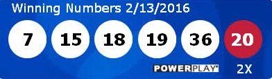 Resultados Powerball sabado 13/02/2016. Ver resultados: http://wwwelcafedeoscar.blogspot.com/2016/02/powerball-resultados-sabado-13-02-16.html