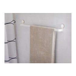 STUGVIK Towel rack with suction cup - IKEA -- or could be used for the laundry!