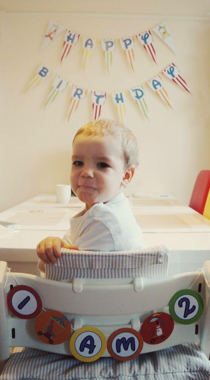 Chair garland..I am 2!