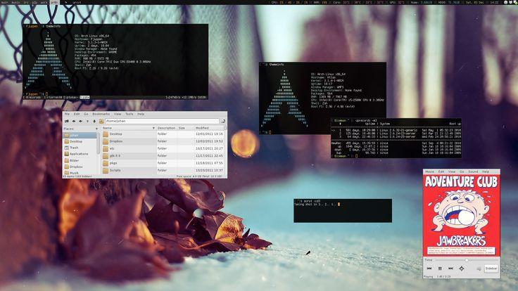 My Desktop - December 2011 by hundone.deviantart.com on @deviantART