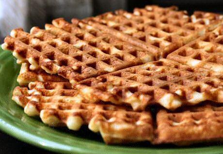 Wafels recept stap voor stap foto's om vanillewafels te bakken