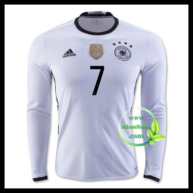 Billige Fotballdrakter Tyskland Langermet SCHWEINSTEIGER 7 Hjemmedraktsett UEFA Euro 2016