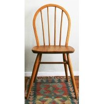 Chaise ercol collector chic bois chaise vintage brocante chic occasio - Chaise vintage occasion ...