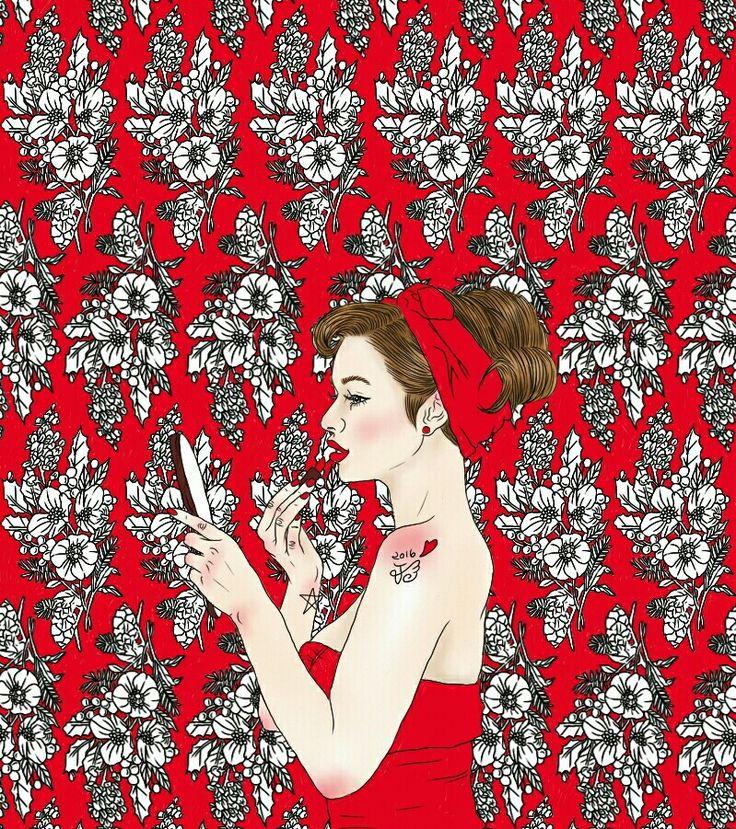 http://blog.naver.com/sa_ranghae m.facebook.com/nanniyaa http://www.instagram.com/nanni.x_x  #NanNi #난니 #그림그리는여자 #Art #아트 #그림 #수작업 #손그림 #illustration #illust #일러스트 #design #디자인 #sketch #스케치 #drawing #드로잉 #croquis #크로키 #artwork #love #follow #tattoo  #girl #flower