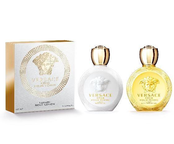 Per l'estate arriva il nuovo profumo Eros Versace, una fragranza femminile che contiene tutto il potere di seduzione della donna. Donatella Versace presenta la nuova interpretazione della donna contemporanea con un profumo avvolgente e radioso. La confezione è una bottiglia con tappo a forma di anfora che ricorda la mitologia greca e il logo della …