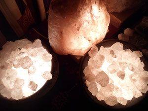 Lámparas de Sal. - Página web de bazarholistico