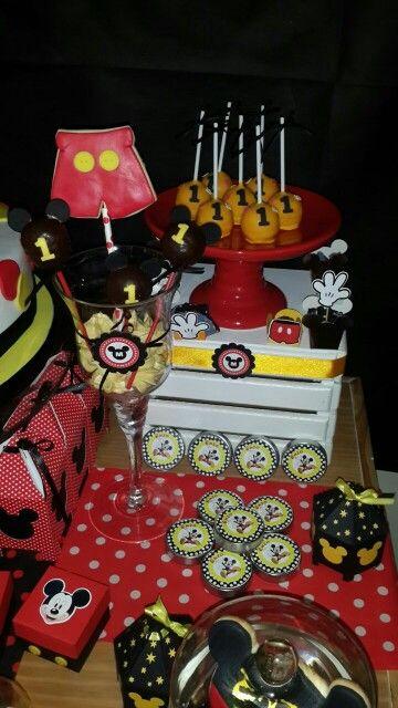 Birthday Mickey mouse