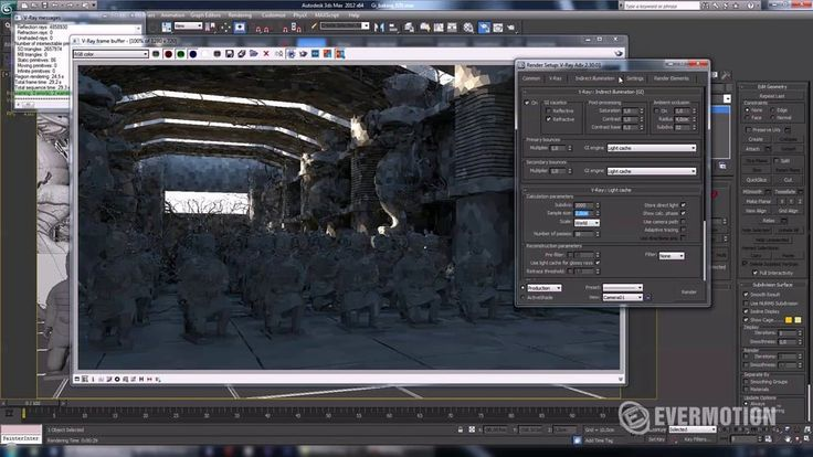Flickering free flythrough animation in Vray on Vimeo
