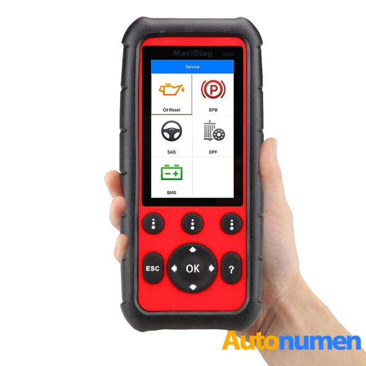 Autel MaxiDiag MD808 Vehicle Code Reader Professional Service Scan Tool for Engine/Transmission/SRS /ABS /EPB/ Oil Reset/ DPF/SAS and BMS