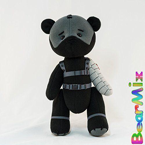 Bucky Winter Soldier bear - marvel superhero movie comic ... https://www.amazon.com/dp/B07456WLW2/ref=cm_sw_r_pi_dp_x_kn69zb0AG5JXQ