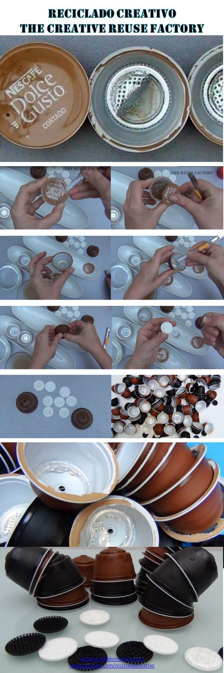 c mo limpiar y preparar para reciclar las c psulas de caf dolce gusto. Black Bedroom Furniture Sets. Home Design Ideas