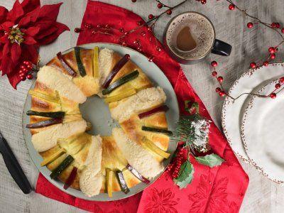 Receta de Rosca de Reyes Tradicional