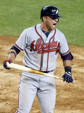 Atlanta Braves' Martin Prado!! He will ALWAYS be one of my favs!!!!