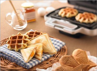 "Waffle/Panini maker from Vitantonio  I want to make ""Taiyaki"" at home!"