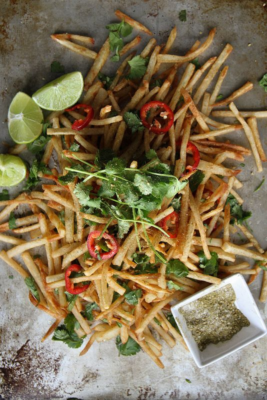 Lebanese Spiced French Fries from Heather Christo