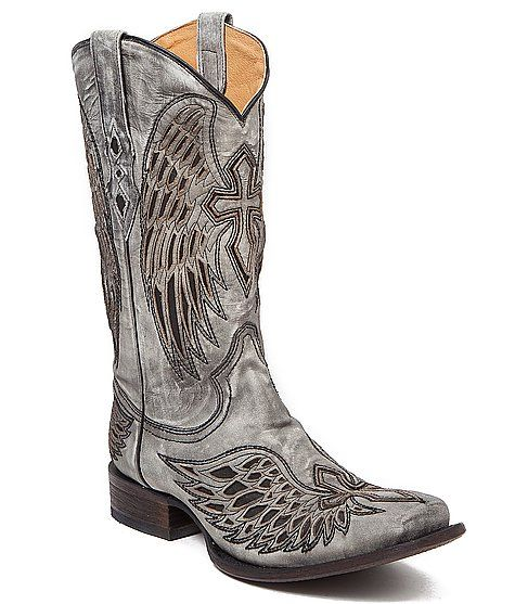 Corral Trevor Smoke Cowboy Boot - Men's Shoes | Buckle  I have these and love em'!