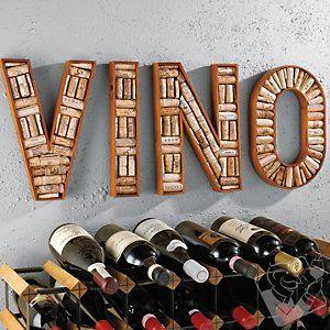 Wine cork DIY idea.