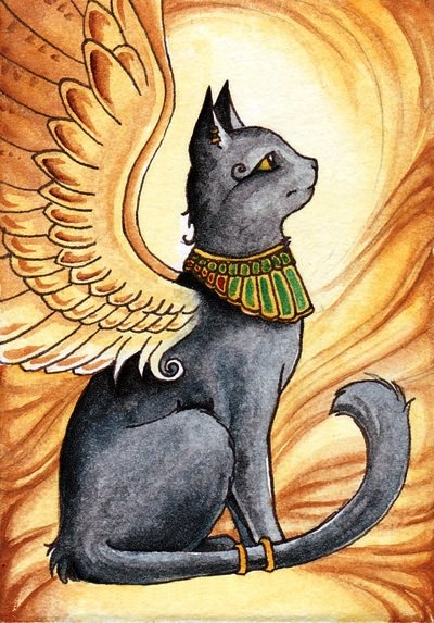 Bast - cat goddess