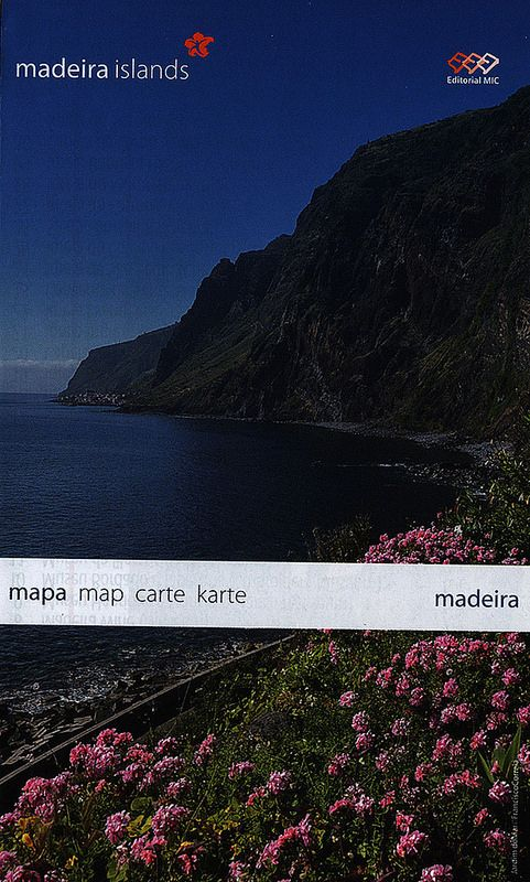madeira mapa map carte karte; 2012_1, Portugal overseas territory | tourism travel brochure | by worldtravellib World Travel library