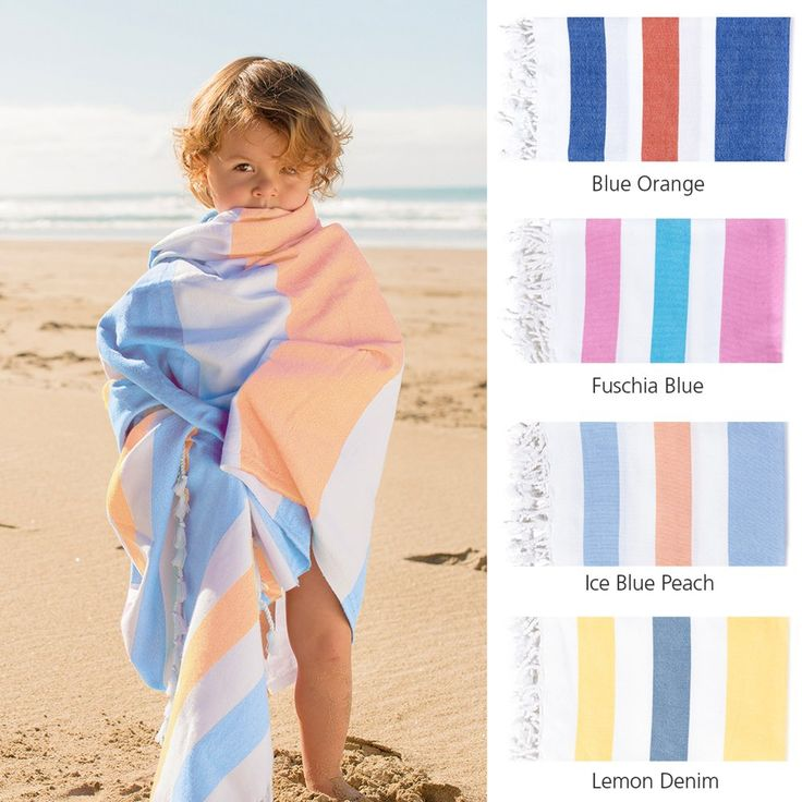 Organic Cotton Flatweave Towel - The best beach towel ever!Hand loomed in Southern Turkey with 100% GOTS certified organic cotton. The perfect beach companion and a wonderful gift for sun lovers everywhere.Bold and beautiful this Turkish style flatweave towel has a tight weave that makes it extremely durable and sand simply slides off. Just as absorbent as a terry towel and dry again in minutes; practicality and style at its best.Doubles as a sarong, wrap, throw, picnic blanket or ta