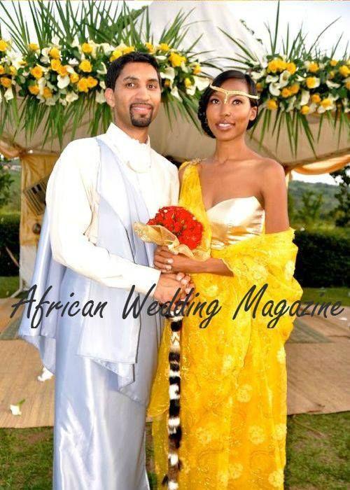 RWANDAN bride + INDIAN bwam