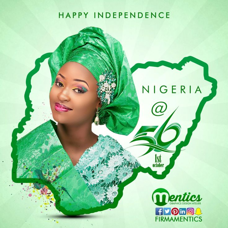 Nigerian Independence day design