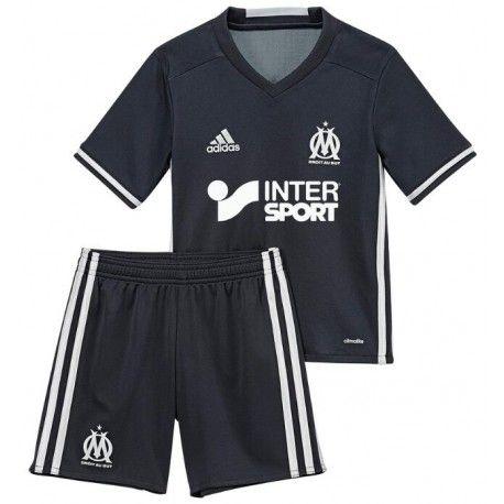 Maillot Olympique De Marseille Enfant 2016-2017 Extérieur