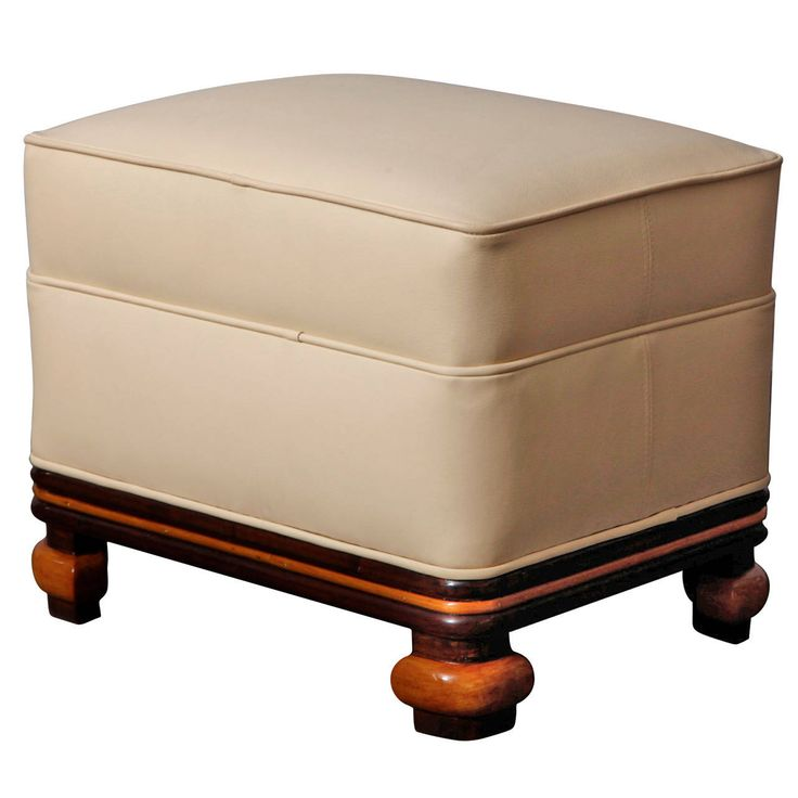 Art Deco Ottoman - 15 Best Art Deco Upholstery ( Ottomans / Stools / Benches ) Images