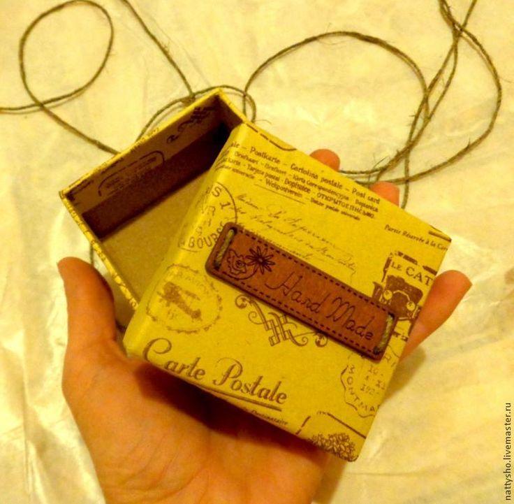 Мастерим коробочку для броши - Ярмарка Мастеров - ручная работа, handmade