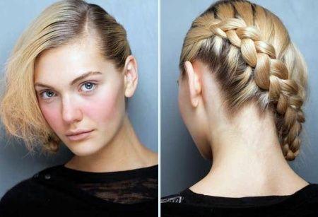 Hair braid side