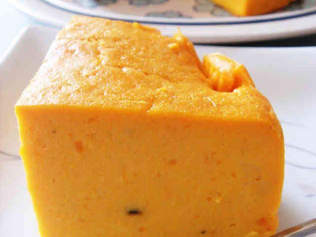 カボチャ少なめクリチの代わりに生クリームの方が美味しいかも  かぼちゃのクリームチーズケーキの画像