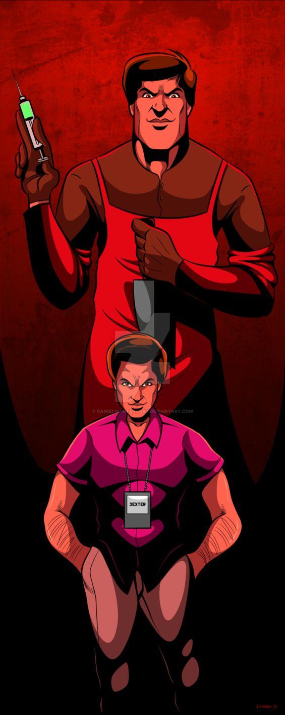 Dexter Morgan  #comic #comics #Vectores #Vector #adobeillustrator