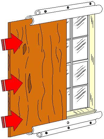 window slide panel | DIY Hurricane Window Protection - Plywood or Plastic Hurricane Panel ...