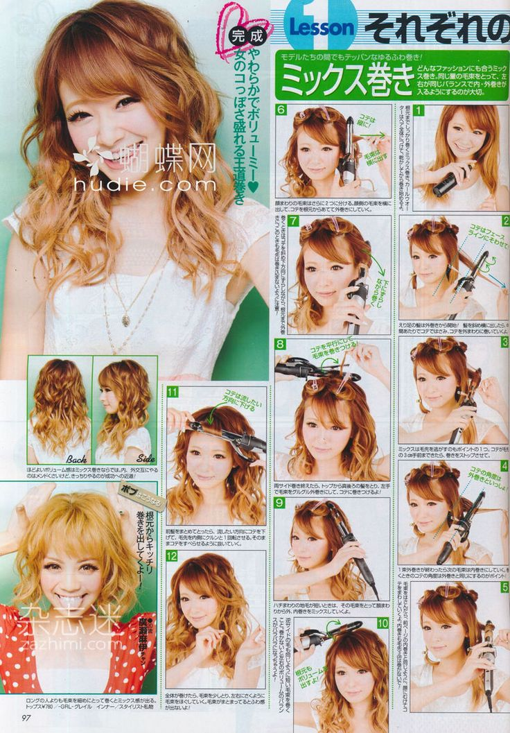 Momodoki Popteen August 2012 Makeup And Hair Scans
