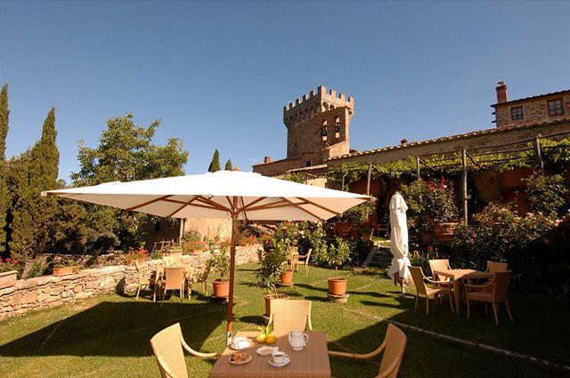 TOP 5 zamków w Toskanii przekształcona w hotele   Dom-wnetrze