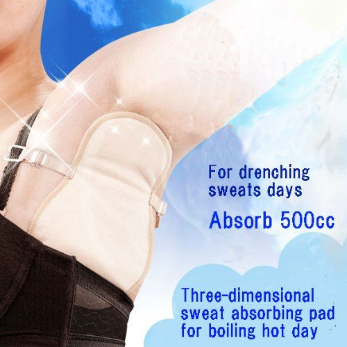 New Sweat Pad Antiperspirant Underarm Armpit Guard Sheet Shield Bra Absorb Nice Made in Japan Dream