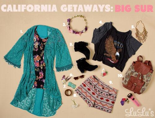 California Getaways: Big Sur