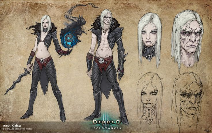 ArtStation - Diablo 3 Rise of the Necromancer art, Aaron Gaines