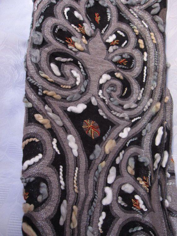 Wool shawl hand made de Starscarf en Etsy https://www.etsy.com/es/listing/174283195/wool-shawl-hand-made