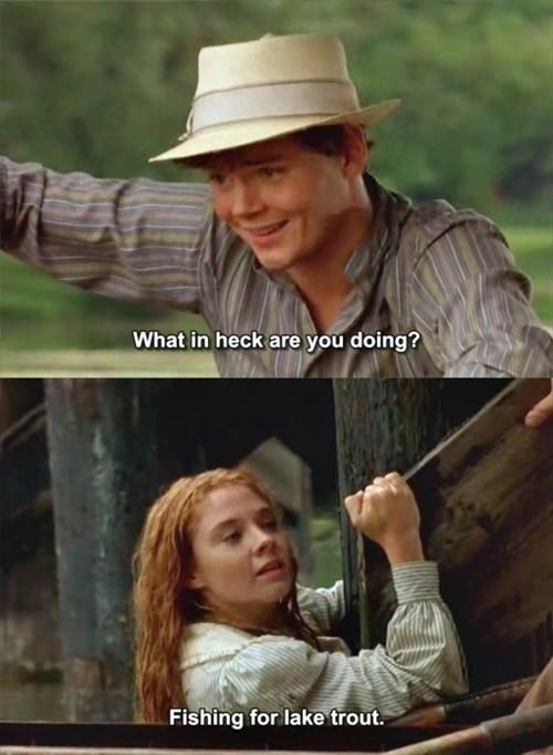 Best quote of the movie! Anne of Green Gables