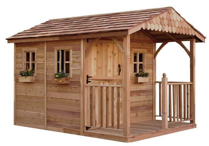 Outdoor Living Today – SR812 – 8 x 12 Santa Rosa Garden Shed with Dutch Door