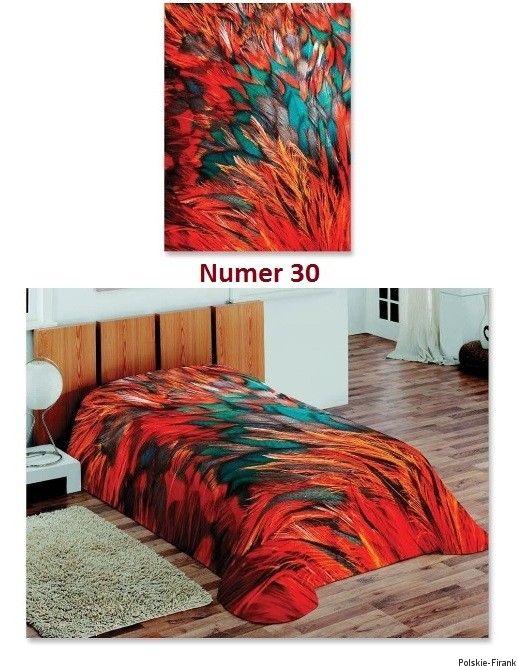 Koc Narzuta na łózko 3D 160x220 koce narzuty AKRYL