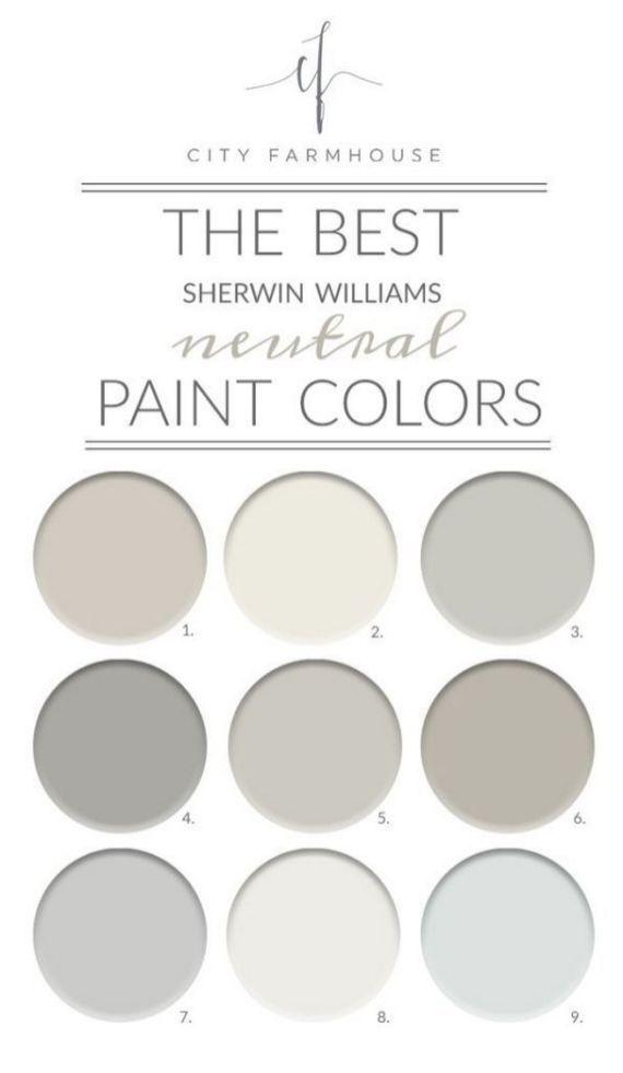 Neutral Color Scheme In Interior Design 3 Sherwin Williams Paint