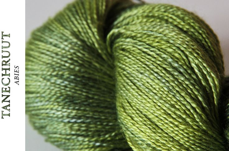 "Siide-Füürneem - hand-dyed, silk-rocal alpaca, colourway ""Tanechruut"""